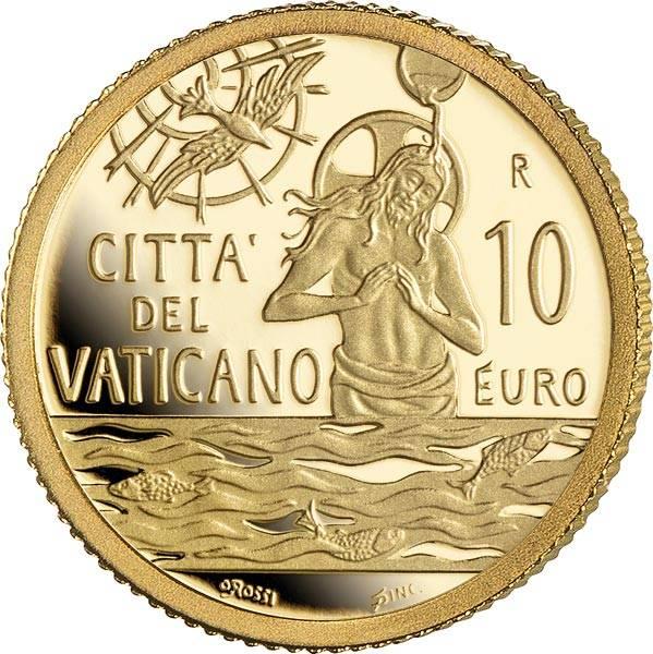10 Euro Vatikan Taufe MMXXI  2021
