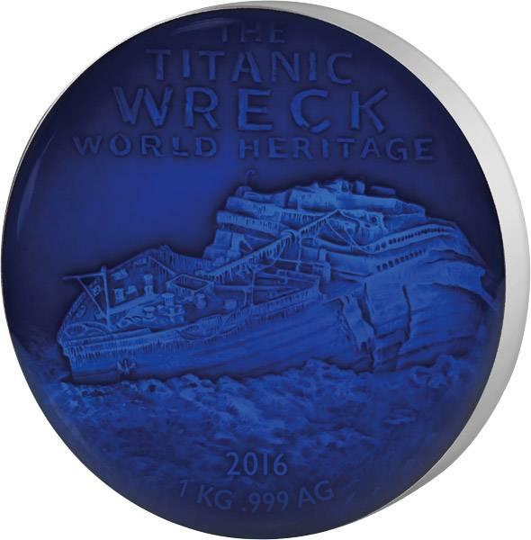 1 Kilo Silber Benin Deep Sea Titanic