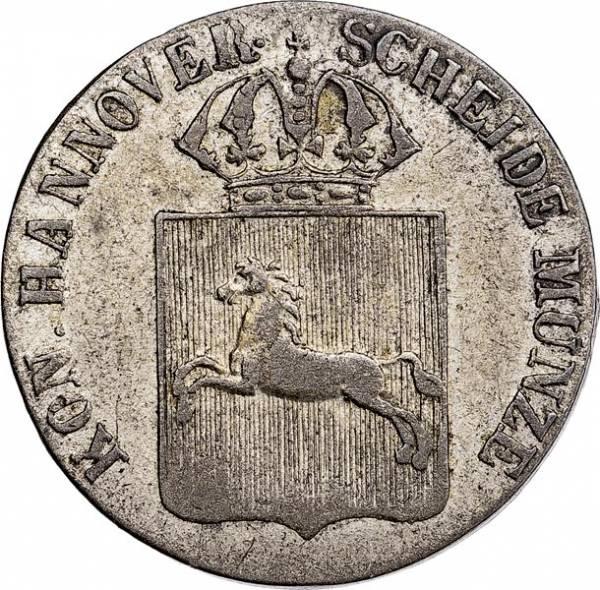 1/24 Taler Hannover König Wilhelm IV. 1834-1837