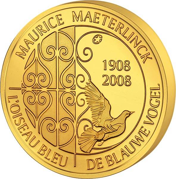 50 Euro Belgien Blauer Vogel 2008