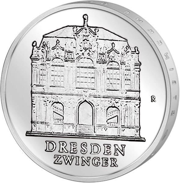 5 Mark Dresdner Zwinger 1985