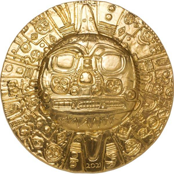 5 Dollars Cook-Inseln Inka Sonnengott 2021