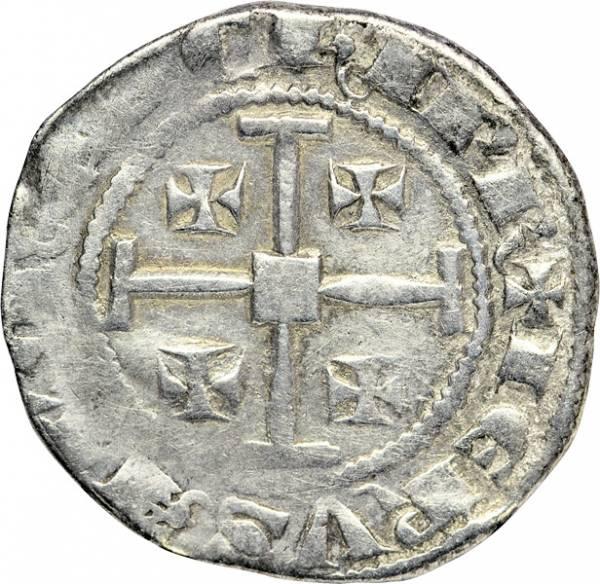 Halbgroschen Kreuzfahrerstaat Zypern verschiedene Könige