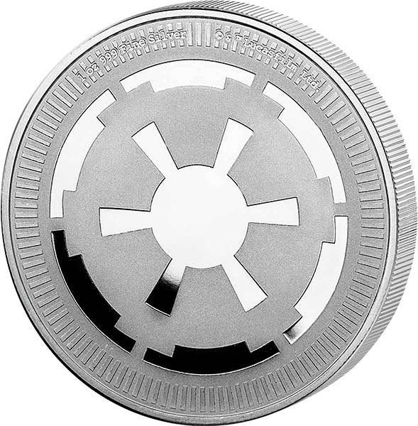 1 Unze Silber Niue Star Wars Galactic Empire 2021