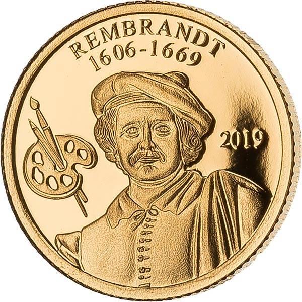 1 Kina Papua-Neuguinea 350 Jahre Rembrandt