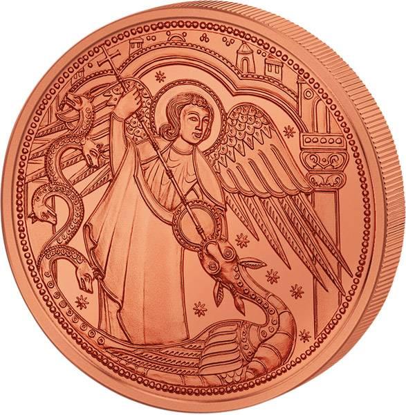 10 Euro Österreich Schutzengel Michael 2017
