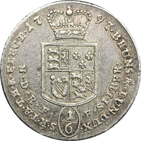 1/6 Taler Kurfürst Georg III. 1792-1804