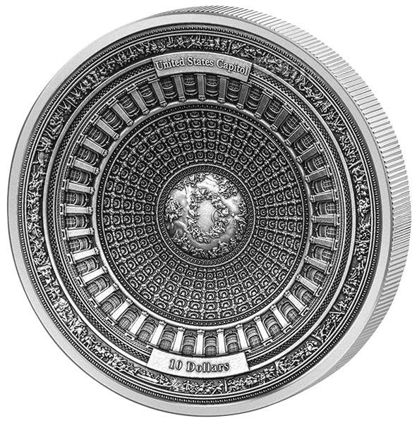 10 Dollars Samoa US-Capitol 2017