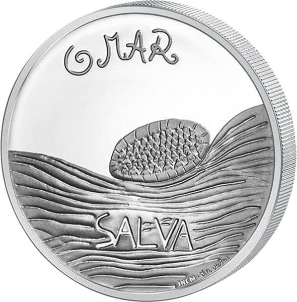 5 Euro Portugal Das Meer - Kinderzeichnung 2019