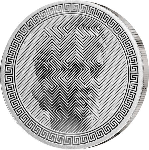 1 Unze Silber Tokelau Icon 2020