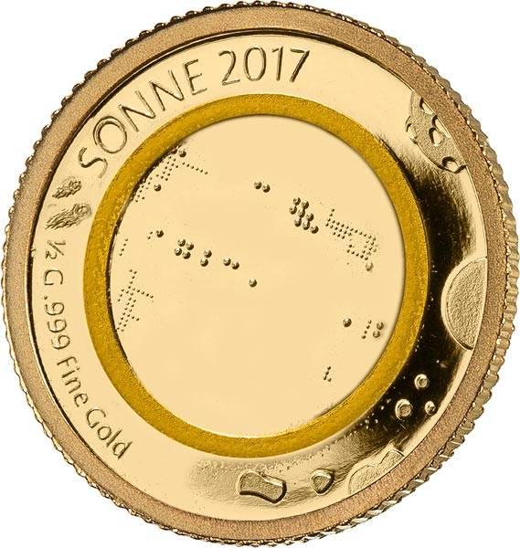 100 Francs Kongo Sonne 2017