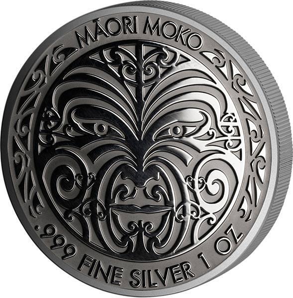 5 Dollars Tokelau Maori Moko 2017