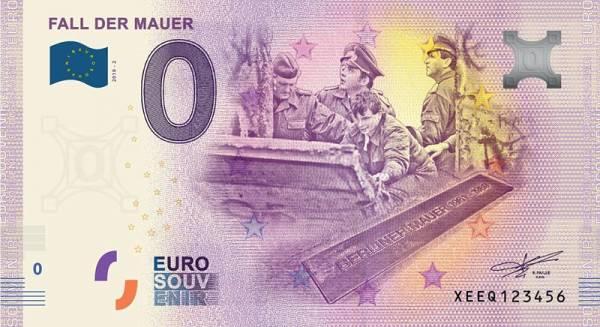 0-Euro-Banknote 30 Jahre Mauerfall II 2019