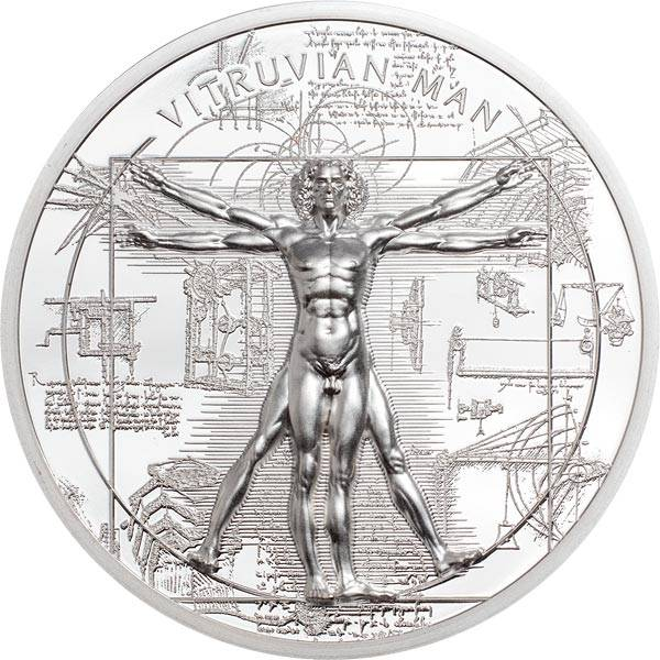 5 Dollar Cook-Inseln X-Ray Vitruvian Man 2021