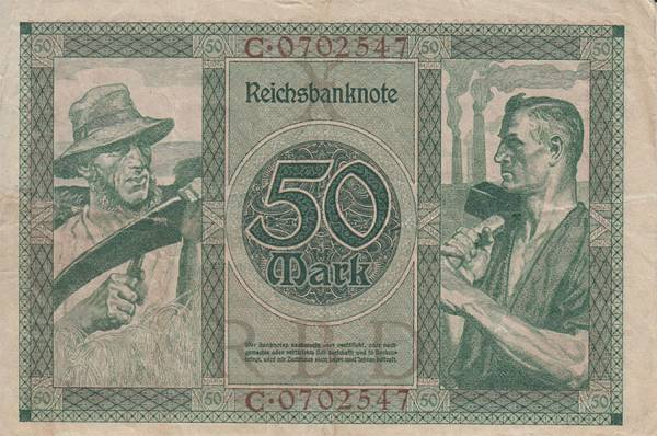50 Mark Reichsbanknote