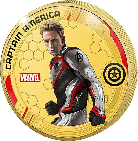 Gedenkprägung Captain America