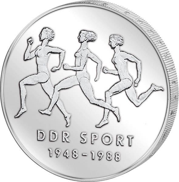 10 Mark DDR 40 Jahre Deutscher Turn- und Sportbund 1988