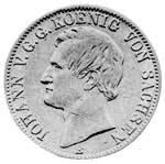 Taler Vereinstaler Johann 1860-1861 Sehr schön