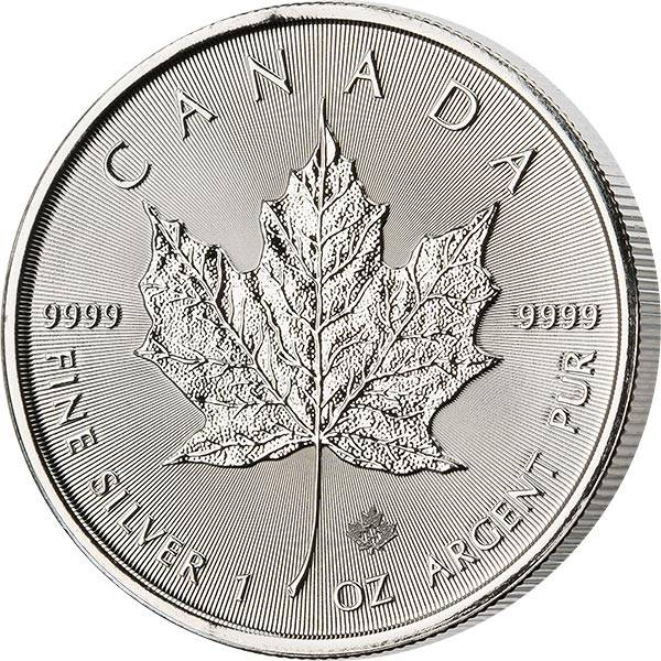 1 Unze Silber Kanada Maple Leaf 2021