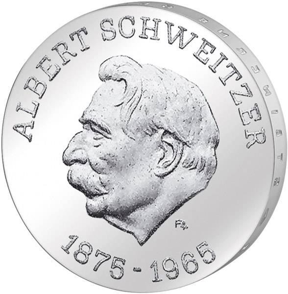 10 Mark  Albert Schweitzer 1975 A Stempelglanz
