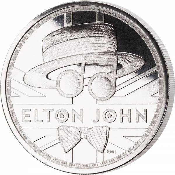 1 Unze Silber Großbritannien Elton John 2021