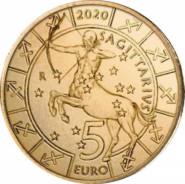 5 Euro San Marino Tierkreiszeichen Schütze 2020