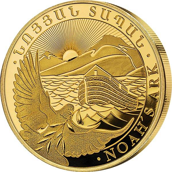 1/4 Unze Gold Armenien Arche Noah 2021