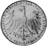 Taler Doppelgulden Gründung des Parlaments 1848  Vorzüglich (vz)