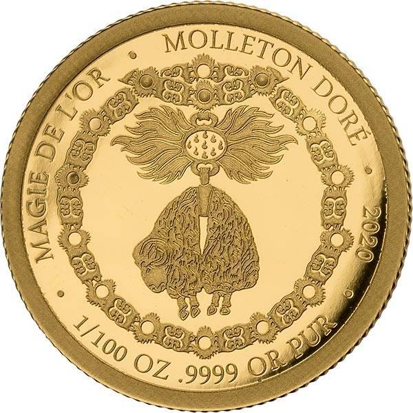 100 Francs Kongo Das Goldene Vlies 2020