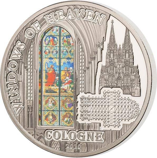 10 Dollars Cook-Inseln Kölner Dom Johannesfenster 2010 - FOTOMUSTER