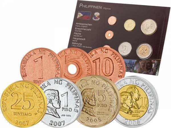 Premium-Kursmünzensatz Philippinien