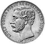 Taler Vereinstalter Adolf Georg 1865 Vorzüglich