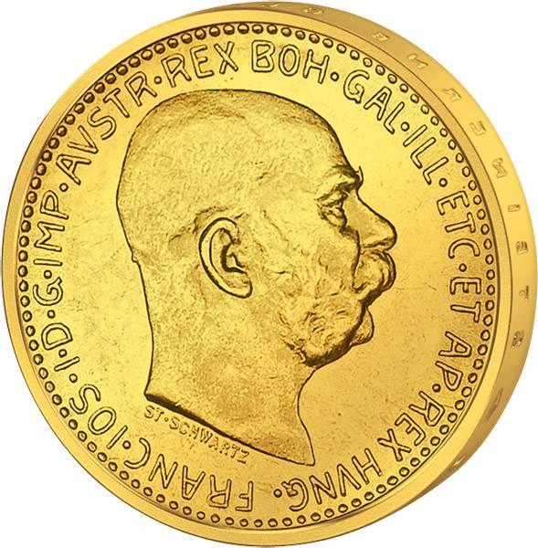 10 Kronen Österreich Kaiser Franz Joseph I. 1909-1912 Vorzüglich