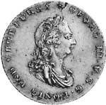Taler  Georg III. 1801  Vorzüglich (vz)