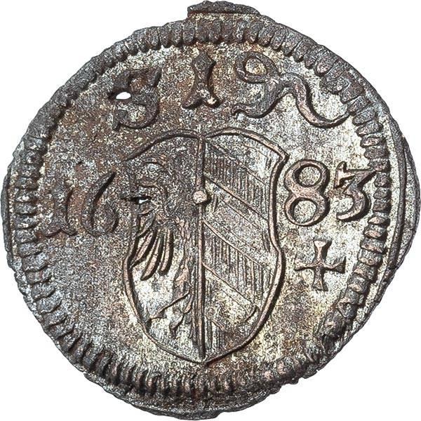 1 Pfennig Nürnberg 1675-1745
