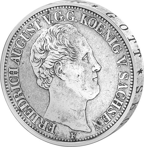 Taler König Friedrich August II.