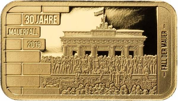 Goldbarren Fall der Mauer 2019