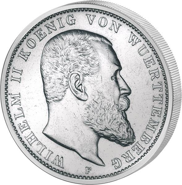 2 Mark Württenberg Wilhelm II.