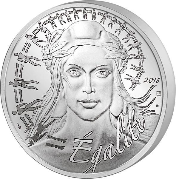 20 Euro Frankreich Marianne Égalité 2018