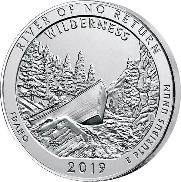 5 Unzen Silber USA Idaho - River of no Return 2019