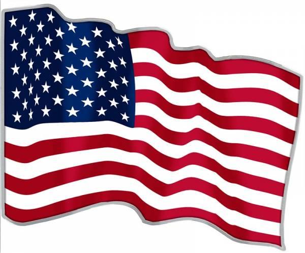 500 Francs Kamerun US Flagge 2021