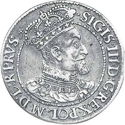 Ort Danzig König Sigismund III. 1616-1624 Sehr schön