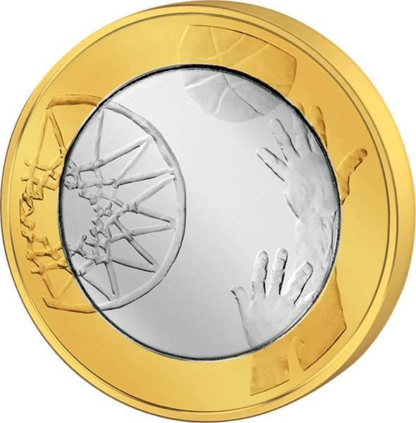 5 Euro Finnland Basketball 2015  Stempelglanz
