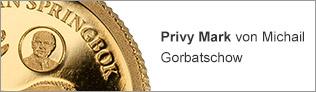 Privy Mark von Michail Gorbatschow