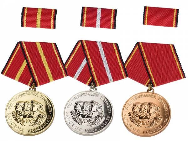 3 Orden DDR Orden für treue Dienste NVA