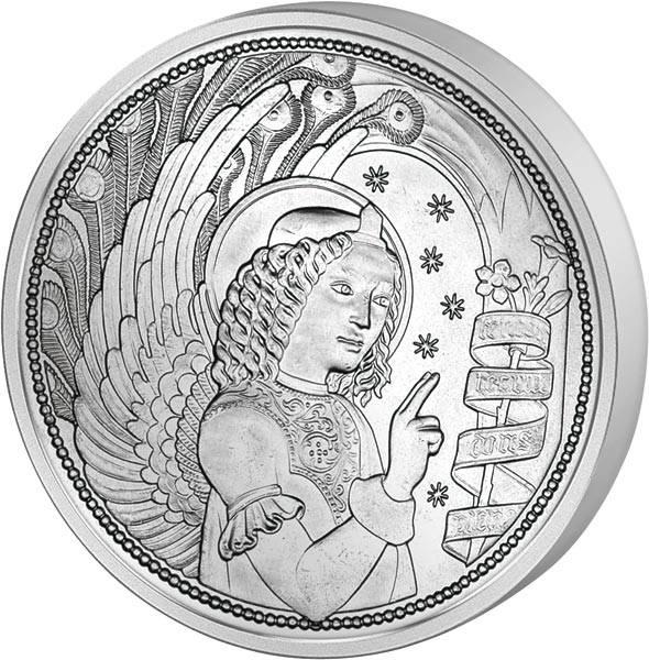 10 Euro Österreich Himmlische Boten Erzengel Gabriel 2017