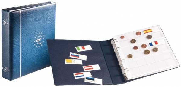 Münzalbum für 18 komplette Euro-Kursmünzensätze