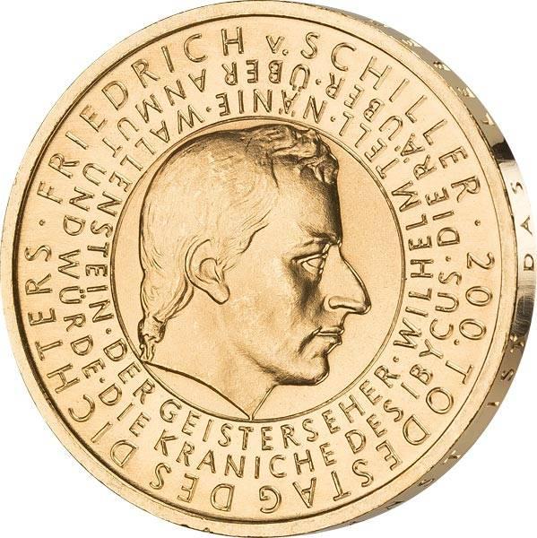 10 Euro BRD 200. Todestag Schiller 2005