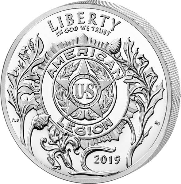 1 Dollar USA American Legion 2019