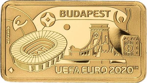 1 Pound Gibralta Fußball Europameisterschaft Budapest 2020